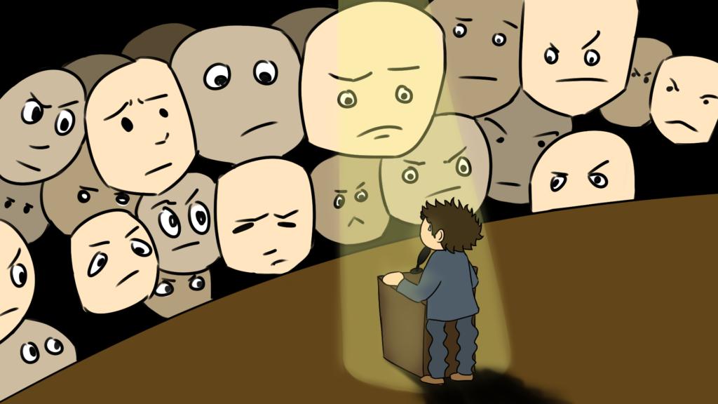 Redeangst überwinden - Lampenfieber