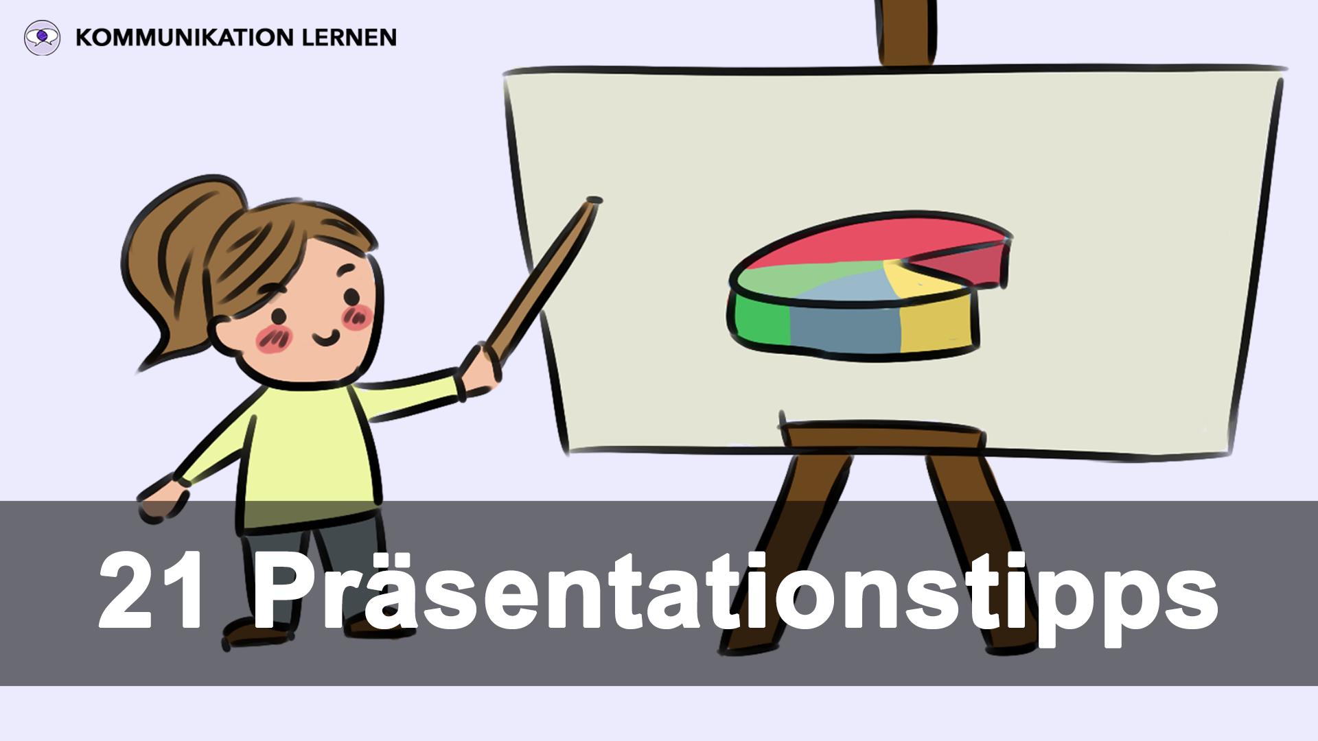 21 Präsentation Tipps: Titelbild