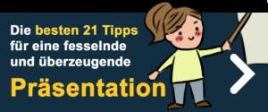Redeangst überwinden -> Präsentation Tipps
