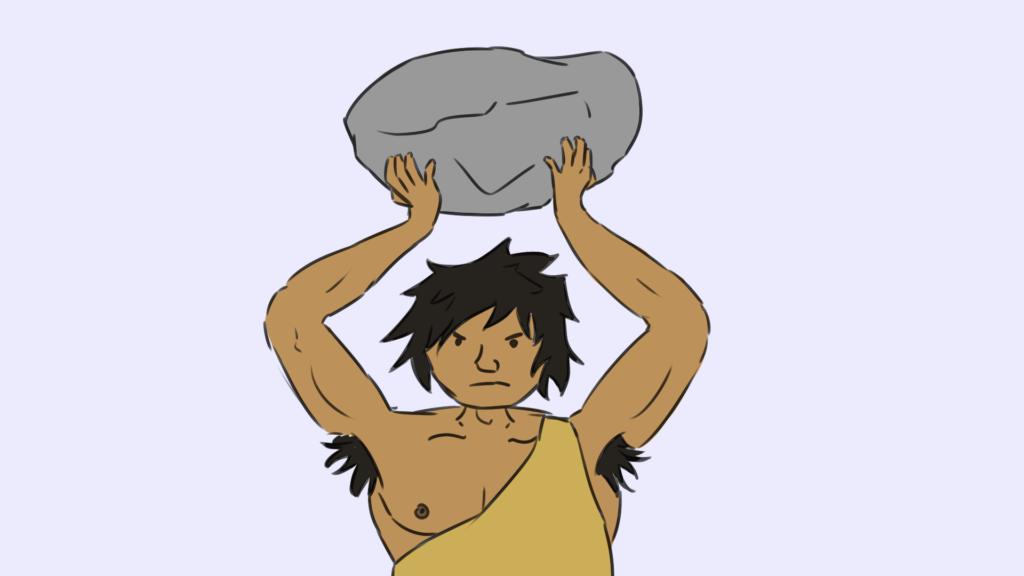 Schüchternheit überwinden: Aggressiver Höhlenmensch