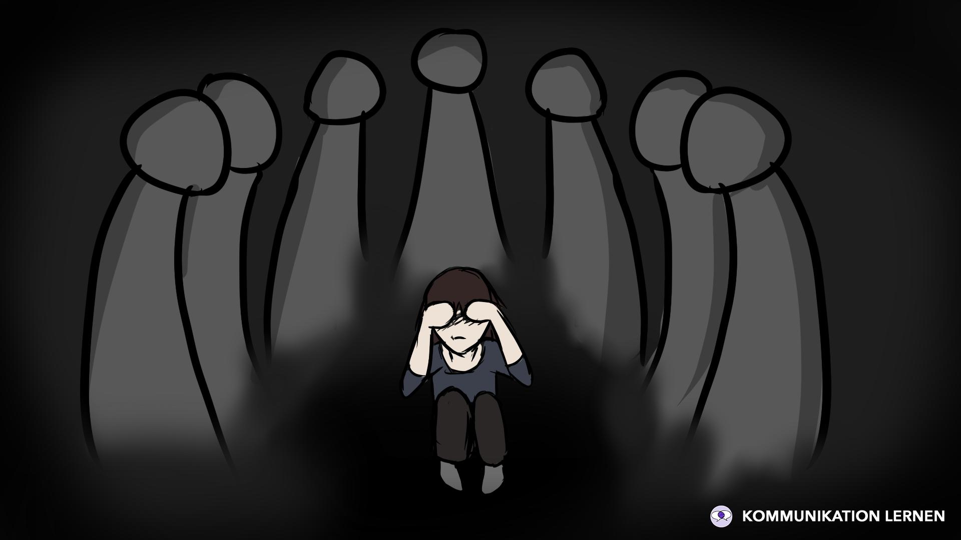 Angst vor Menschen überwinden: Titelbild